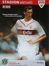 Programm 2009/10 VfB Stuttgart - Hannover 96