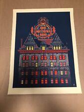 Dave Matthews Band Poster 5/28/2012 Scranton PA Toyota Pavilion /600