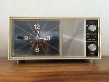 Radio réveil HORLOGE PENDULE Precor   Vintage  des années 70