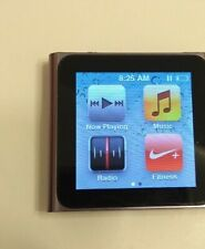 New listing Apple iPod Nano 6th Gen Gray Mp3 Player 8Gb - Tested - 16hr+ Battery - Nice