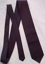 Vintage TOOTAL Tie Mens Necktie Retro 1980s Fashion NAVY RED POLKA DOT