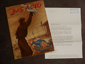 Auto Motor und Sport Das Auto Jahrgang 1 Nr.1 Dezember 1946 Nachdruck 1987 rar