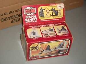 1982 Kenner Star Wars Micro Collection BESPIN GANTRY playset BOX