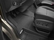 Original VW Gummi Fußmatten vorn Transporter T5 T6 Gummimatten 3-teilig schwarz