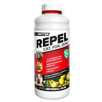 Critter Repel – CAT DOG FOX REPELLENT Repeller Professional Rain Resist Granules