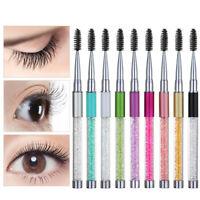 Lash Curling Mascara Applicator Eyelash Brushes Eyebrow Comb Spiral Wands