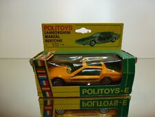 POLITOYS  1:43 - LAMBORGHINI MARZAL BERTONE  NO= 568 - GOOD CONDITION IN BOX