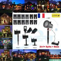 48 modèles LED Projecteur Laser Lumière Éclairage Lampe Pelouse Jardin Déco Noël