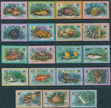 Tuvalu 1979 SG105-122 Fish set FU
