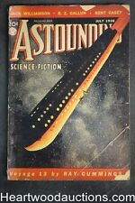 Astounding Jul 1938 The Dangerous- 1st sci fi by L. Ron Hubbard