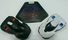 R.E.V. Robotic Enhanced Vehicles Wowee (2) Cars + Smart Ramp App Contolled EUC