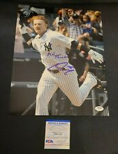 CLINT FRAZIER SIGNED 11X14 PHOTO NYY YANKEES RED THUNDER INSCRIP PSA/DNA AH27183
