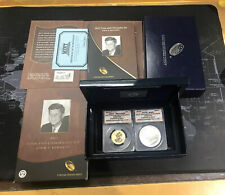 2015 JFK Coin & Chronicles MS69 -RP69 2-Coin Set First Day of Issue #183 OF #749