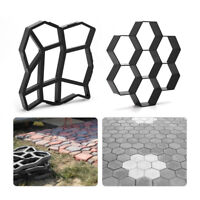 Garden Walk Paving Mould for Driveway Path Brick Patio Concrete Slabs DIY