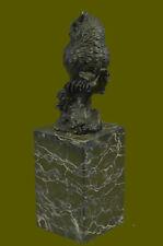 Prey Owl Bird Bronze Marble Sculpture Statue HotCast Lost Wax Figurine Art Deal