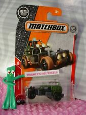 2018 MATCHBOX #79 SAHARA SWEEPER☆army green/ gray☆MBX Rescue☆65TH ANNIVERSARY