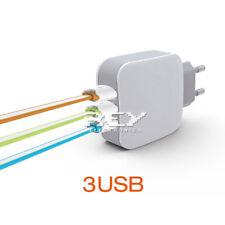 Cargador de Pared  Multipuerto Triple 3 USB Cable Micro USB  d316/v191