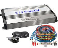 BRX20161D Hifonics 2000 Watt Monoblock Brutus Series Class D Amp. w-Install Kit