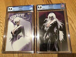 SDCC 2019 Black Cat #2 Aspen Comics Exclusive Set CGC 9.8 Michael Turner L@@K!