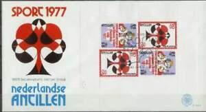 Nederlandse Antillen FDC NVPH E102a onbeschreven (1) open klep