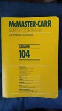 McMaster Carr Supply Catalog 104