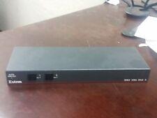 Extron SW2 VGA DA2 2 Input 300MHz Audio Video A/AF Switcher
