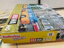 BRAWA 6102 R Geschenkpackung Trolleybus Rot einfach nur NEU