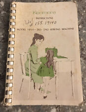 Vintage Kenmore Sewing Machine Booklet Manual Model 1914 Used