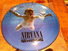 "NIRVANA  NEVERMIND PICTURE DISC VINYL 12 "" SIZE"