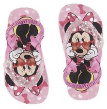 Disney Toddler Girls' Minnie Mouse Flip-Flop Sandals - Size 5-6