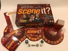 Scene It? Harry Potter DVD Family Board Game by Mattel 2005 Complete Never Used