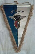 Fanion ancien 1° RHP Hussards Parachutiste Original vintage mauvais état !