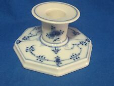 Royal Copenhagen China Blue Fluted pattern #3334 console candlestick