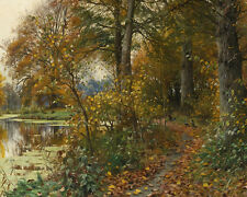 Peder MORK monsted di charlottenlund Foresta 24' tela