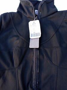 Adidas By Stella McCartney Ski Jacket Black Insulated Coat Womens 32