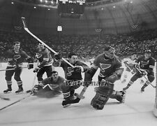 NHL 1968 St. Louis Blues vs Canadiens in Checkerdome Game Action 8 X 10 Photo