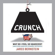 BOOK/AUDIOBOOK CD Jared Bernstein Economics CRUNCH WHY DO I FEEL SO SQUEEZED?