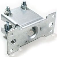 """1"""" Aerial Pole/Mast Bracket-Perfect for Fascia/Loft/Wall Mount-Outdoor Sat Clamp"""