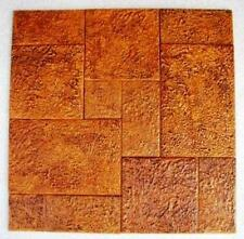 MOLD SET MAKES 100s of CONCRETE TILES FOR $0.30 A SQ. FT. IN OPUS ROMANO PATTERN