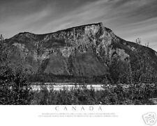 Canada, British Columbia Mountain-B&W Fine Art Photo-8x10-COA-SIGNED!