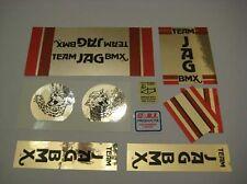1978-80 TEAM JAG BMX decal set #2- Mongoose old school BMX decals