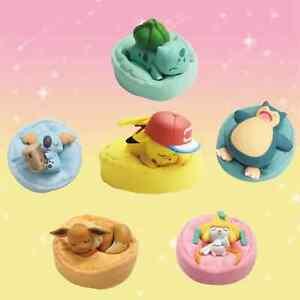 Genuine Pokémon Figures Toys Starry Dream Series Pikachu Eevee Snorlax Cute Gift