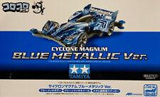 TAMIYA 92398 Mini 4WD CYCLONE MAGNUM Blue Metallic Ver. (AR Chassis)