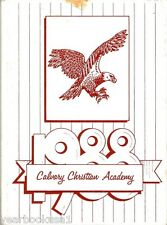 Calvary Christian Academy Irving Texas 1988 Yearbook Annual
