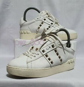 VALENTINO Rockstud Untitled Sneakers Size 38