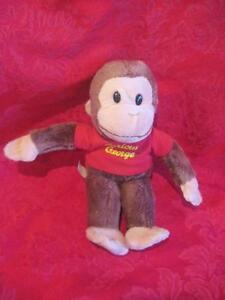 GUND-Classic-Curious-George-7-Inch-Plush-in-Red-Shirt-TM
