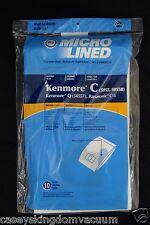 Sears Kenmore Vacuum Bags C & Q Panasonic C-5 5055 50557 50558 10 Bags DVC