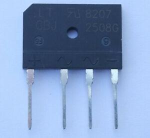 Gleichrichter GBJ2508G 800V 25A