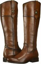 Frye Womens Jayden Button Almond Toe Knee High Fashion Boots, Cognac, Size 5.5 G