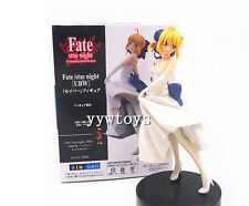 Anime Fate Stay Night Wedding Saber Toy Figure Doll New in Box